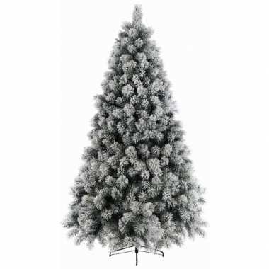 Besneeuwde kleine kunst kerstboom 120 cm kunstbomen
