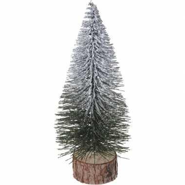 Kleine kleine kunst kerstboom 25 cm