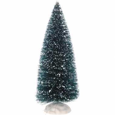 Kleine miniatuur kerstbooms groen 2 stuks
