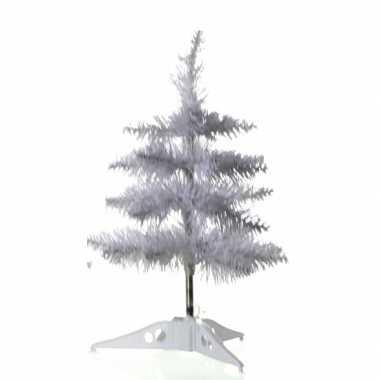 Kleine witte kleine kunst kerstboom 40 cm